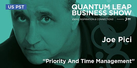 Priority And Time Management - Joe Pici tickets