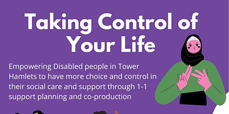 Taking Control of Your Life Steering Group Meeting tickets