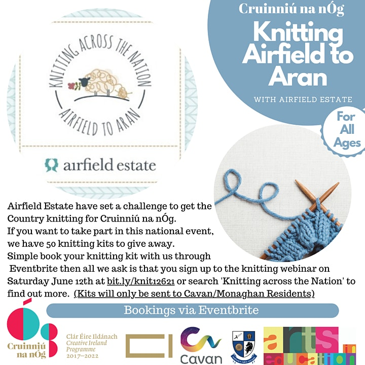 Knitting Airfield to Aran with Airfield Estate image