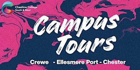 Campus Tours - Ellesmere Port tickets