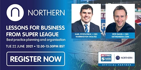 Lessons for business from Super League - planning and organisation tickets