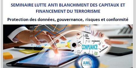 Formation Protection des données, Gouvernance, risques et conformité billets