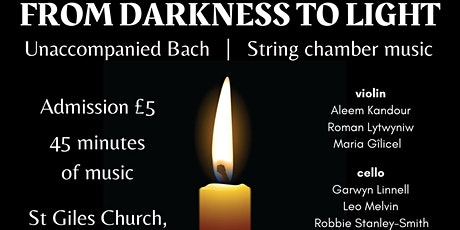 From Darkness to Light 3 tickets