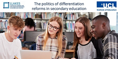 The politics of differentiation reforms in secondary education tickets