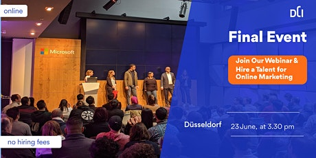 Final Event Düsseldorf: One Event - Multiple Talents in Online Marketing entradas