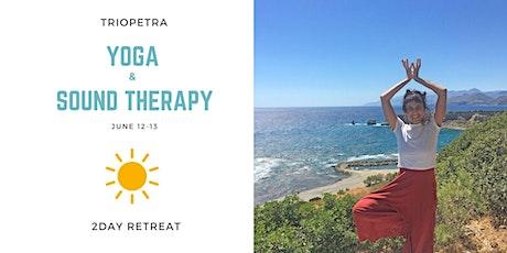 2ήμερο Yoga και Ηχοθεραπεία στην Τριόπετρα tickets