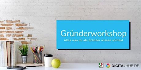 Gründerworkshop: UX-Training Tickets