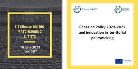 2nd EIT Climate-KIC RIS  Matchmaking event tickets