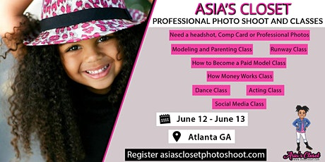 Asia's Closet Modeling Workshop tickets