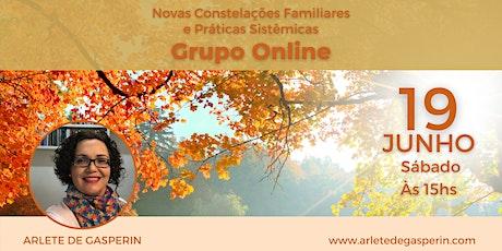 Constelação em Grupo e Práticas Sistêmicas Online (Sábado às 15h) ingressos