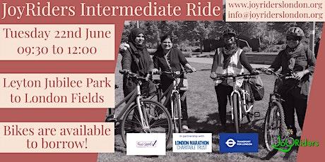 Intermediate Ride: Leyton Jubilee Park to London Fields tickets