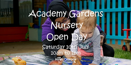 Academy Gardens Nursery Open Day tickets