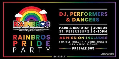 2021 Rainbros Pride Party tickets
