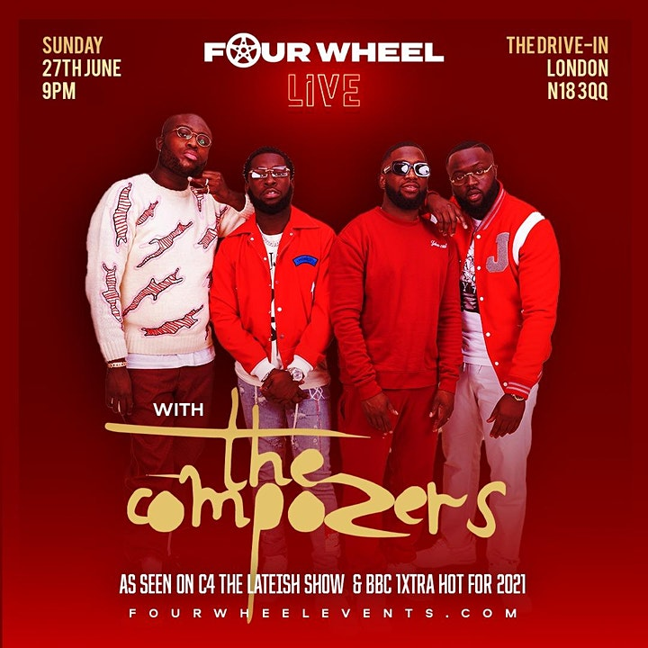 Four Wheel Live - With The COMPOZERS image