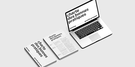 Lancement de  La Charte des bonnes pratiques startups x grands groupes billets