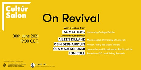 Cultúr Salon - On Revival - from Synge's work to the contemporary tickets