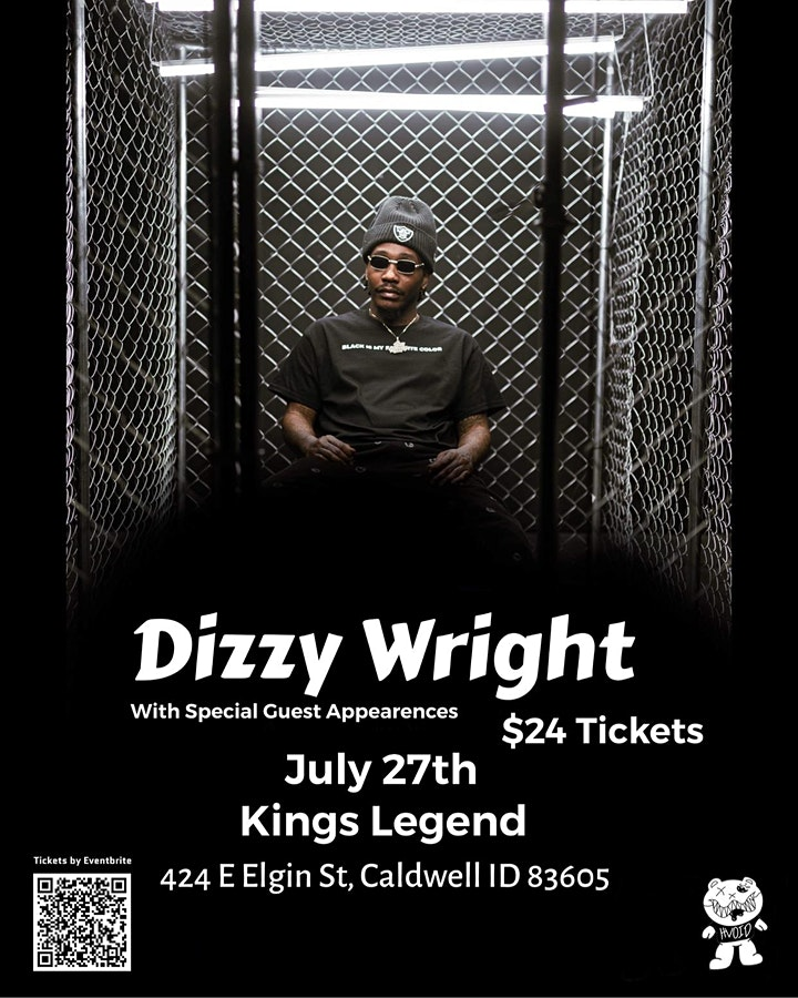 Dizzy Wright + Special Guest image