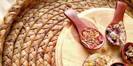 Create the Vibe: Seasonal Bath Tea Virtual Workshop (Materials Provided) tickets