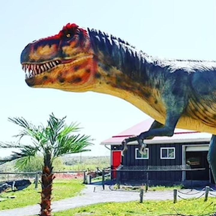 Dinosaur Drive-Thru: Aug 2nd - COVID 19 Safe image