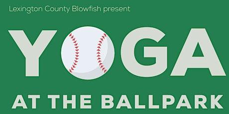 Yoga at the Ballpark tickets
