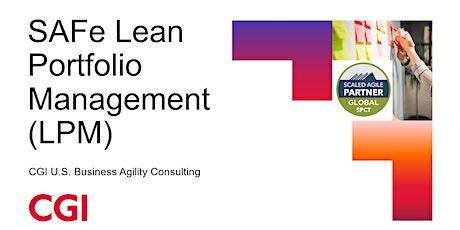 SAFe Lean Portfolio Management 5.1 (LPM) ingressos
