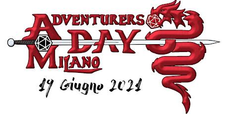 Adventurers Day Milano 2021 biglietti