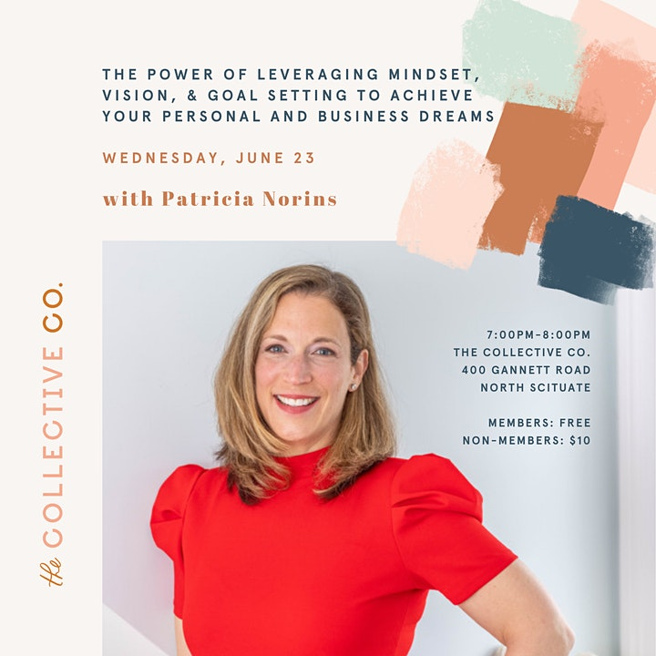 Leveraging Mindset, Vision & Goal Setting with Patricia Norins image