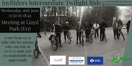 Twilight Ride (Intermediate) from Lloyd Park, Walthamstow tickets