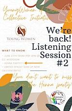 YWOC Listening Session #2 tickets