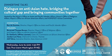 Dinnertime Talks: Dialogue on Anti-Asian Hate tickets