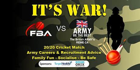 20/20 Cricket Match and Army Careers  Information & Advice Event tickets