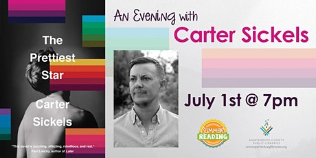 An Evening with Carter Sickels tickets