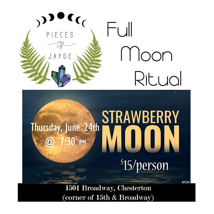 June Full Moon Ritual @ Pieces of Jayde image