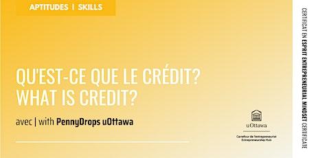 CEE: Qu'est-ce que le crédit ? | EMC: What is Credit? billets
