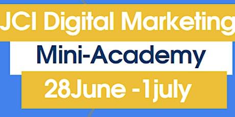 JCI Digital Marketing Mini-Academy biglietti