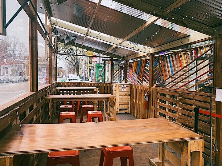 Roof Deck / Street Patio / Indoor / Dining image