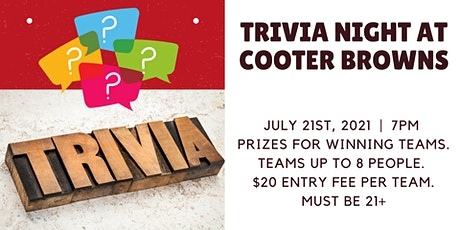 Benevolence Trivia Night at Cooter Brown's Tavern tickets