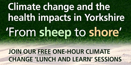 Climate Change Lunch and Learn Event 10 - 1 October 2021 tickets