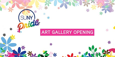 SUNY Pride 2021 Art Gallery Opening tickets