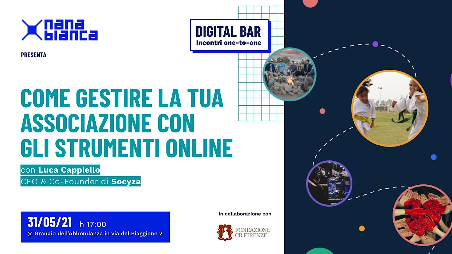 Digital Bar: Gestisci la tua associazione online