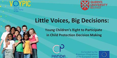 Little Voices, Big Decisions tickets