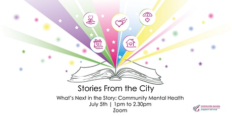 Stories from the City - What's Next in the Story: Community Mental Health tickets