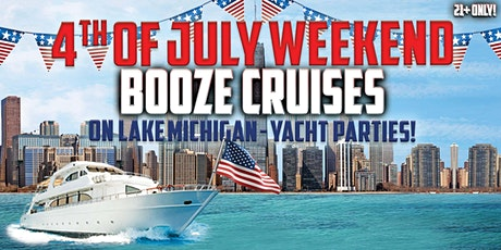 4th of July Wknd Booze Cruises - Choose from July 1st, 2nd, 3rd, 4th or 5th tickets