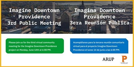 IMAGINE DOWNTOWN PVD: 3RD PUBLIC MEETING tickets