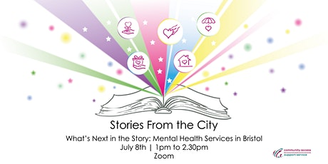Stories from the City - What's Next in the Story: Mental Health Services tickets