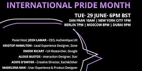 International Pride Month Panel tickets