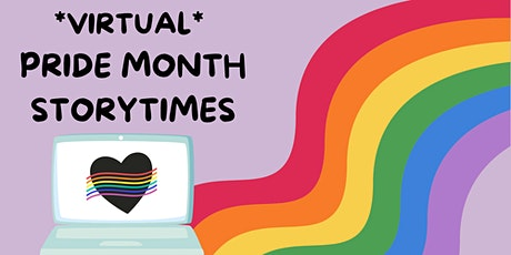 Virtual Pride Month Storytimes tickets