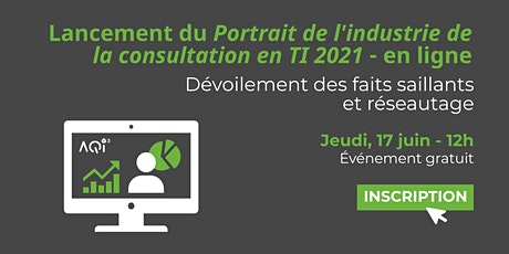 Lancement du Portrait de l'industrie 2021 et réseautage virtuel billets