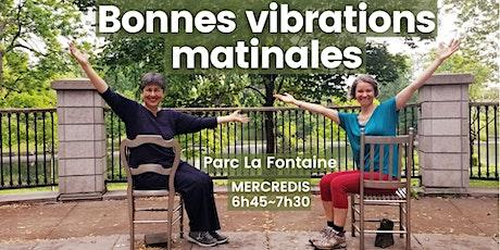 Bonnes vibrations matinales au Parc La Fontaine à Montréal billets
