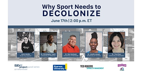 Why Sport Needs to Decolonize? tickets